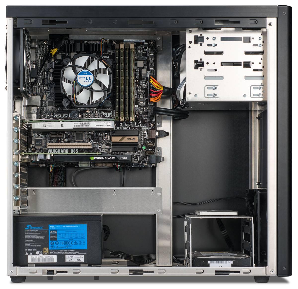 Cerise Desktop, Inside